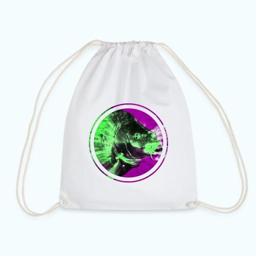 Psychedelic Koi Carp - Drawstring Bag