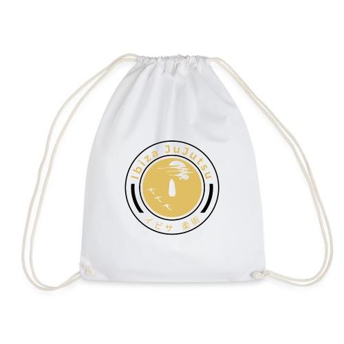 Classic circular logo for Ibiza JuJutsu - Drawstring Bag