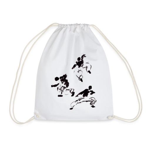 3 kungfu - Drawstring Bag