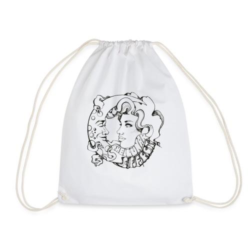 The Lunar Effect Original Logo - Drawstring Bag
