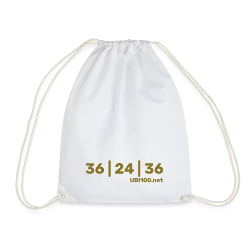 36 | 24 | 36 - UBI - Drawstring Bag