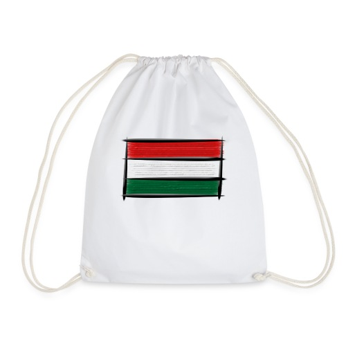 Art Flagge Ungarn - Turnbeutel