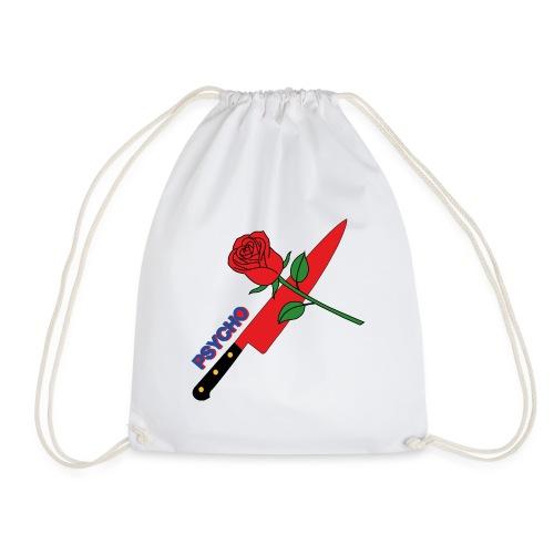 Psycho (T-Shirt Design) - Drawstring Bag