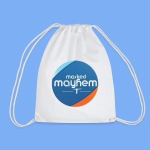 circle design - Drawstring Bag