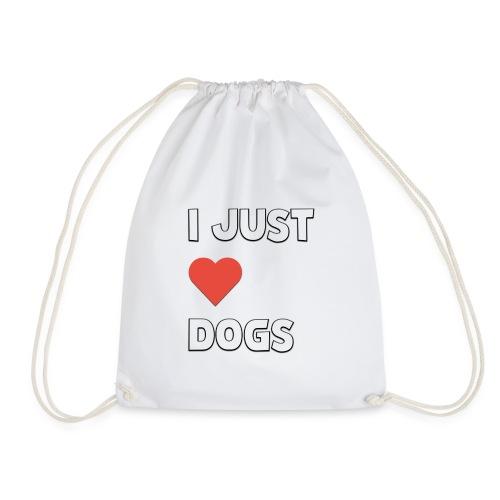I Just Love Dogs - Gymnastikpåse