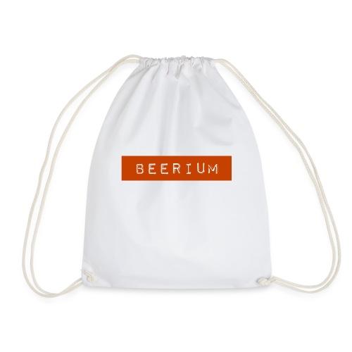 BEERIUM logo orange - Gymnastikpåse