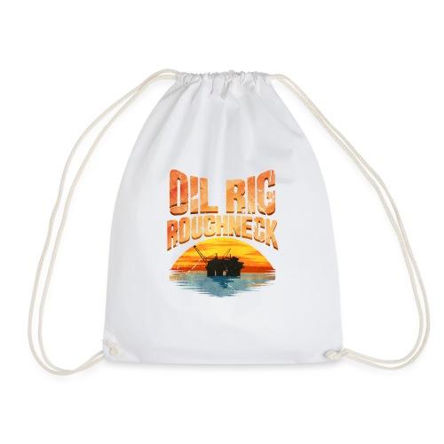 Oil Rig Worker Roughneck - Drawstring Bag