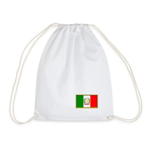 Bandiera Italiana - Sacca sportiva