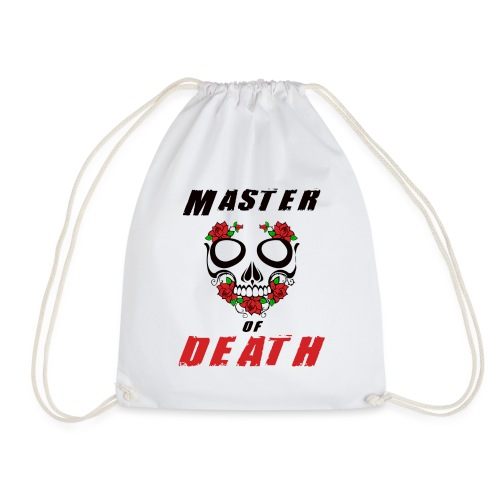Master of death - black - Worek gimnastyczny