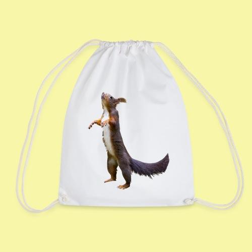 Eichhörnchen Schoko - Turnbeutel