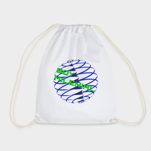 I am Millennial. - Drawstring Bag