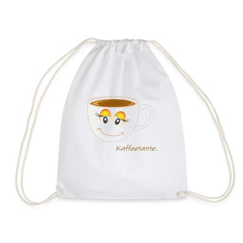Kaffeetante-Tasse - Turnbeutel