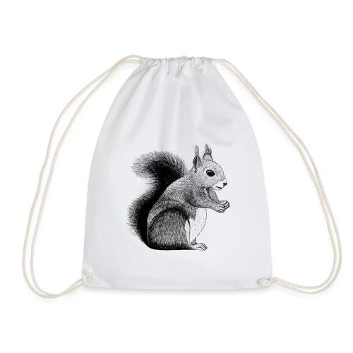 Eichhörnchen Tier Süß Bild Kinder Wald - Turnbeutel