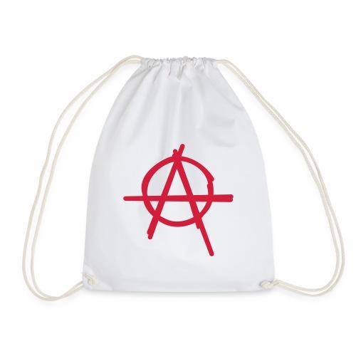 Anarchie Symbol Anarchy Zeichen Punk Logo A Icon - Turnbeutel