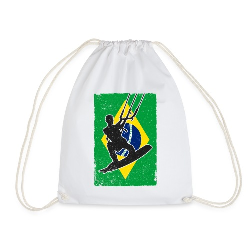 Kitesurfen - Brasilien - Turnbeutel