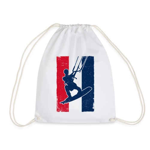 Kitesurfer France - Turnbeutel