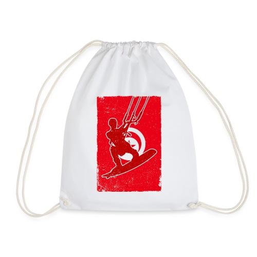 Kitesurfer Tunisia - Turnbeutel
