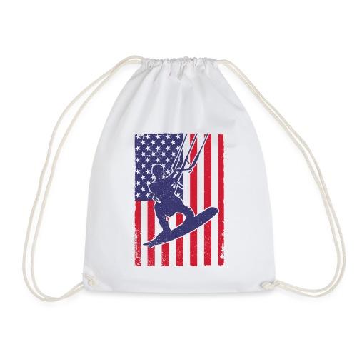 Kitesurfer USA - Turnbeutel