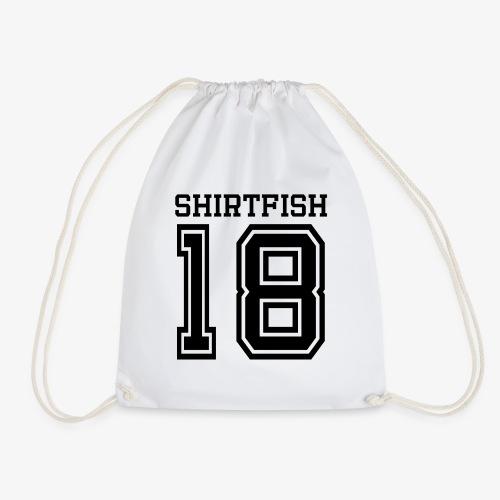 Shirtfish College (black) - Turnbeutel