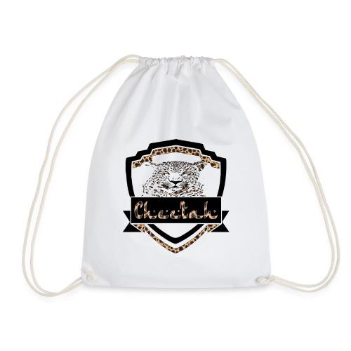 Cheetah Shield - Drawstring Bag