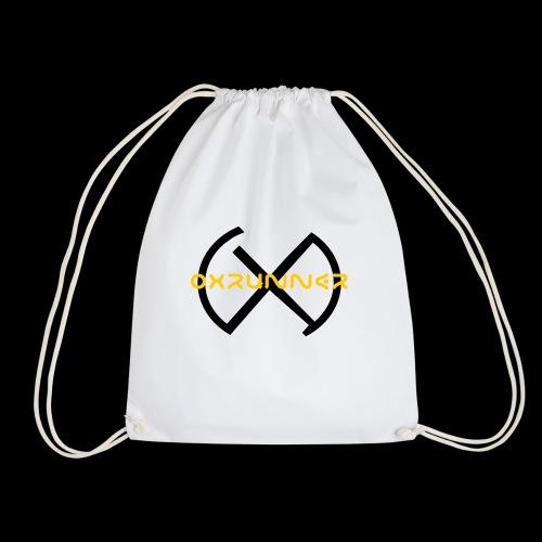Oxrunner logo gold - Drawstring Bag