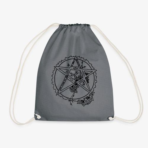 Flowergram - Drawstring Bag