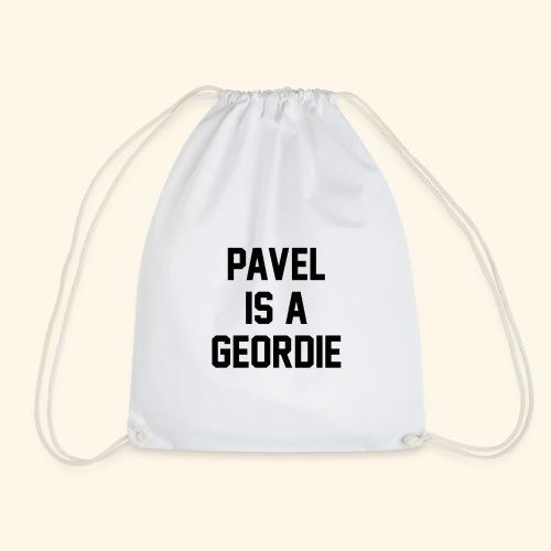 Pavel Is A Geordie - Drawstring Bag