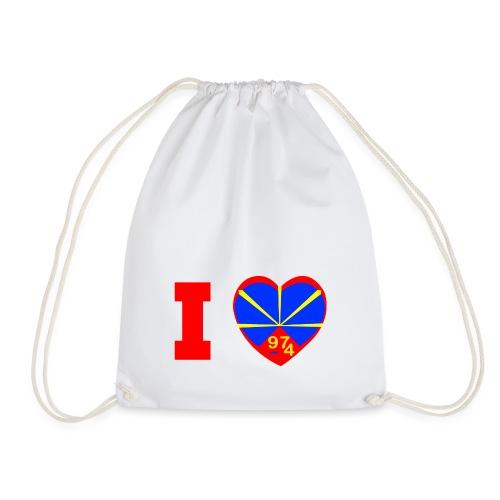 I love 974 - Lo Mahaveli - Sac de sport léger
