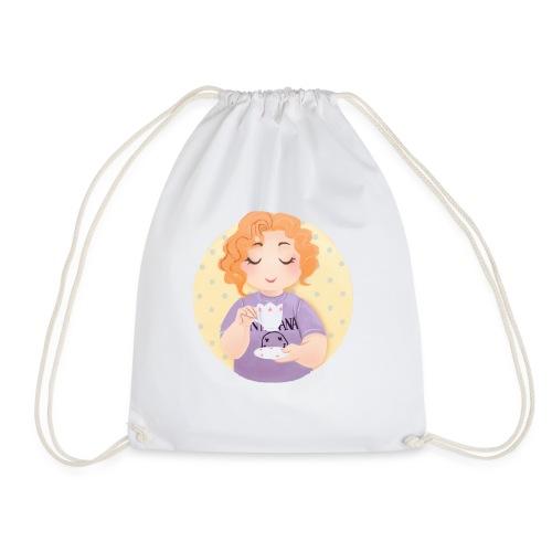 Gingerly Ginger - Drawstring Bag