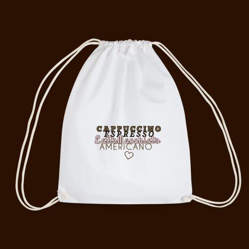 cafe - Drawstring Bag