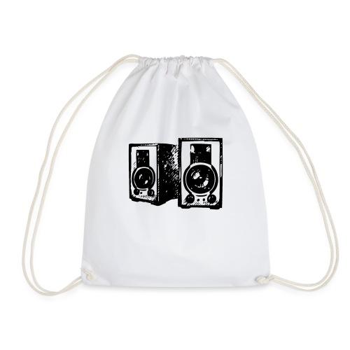 DJ Symbol Musik Musiker Musikboxen - Turnbeutel