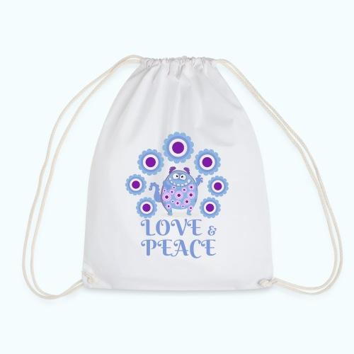 Hippie monster - Drawstring Bag