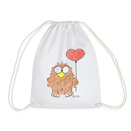Niki Owl Amor / Amor - Mochila saco