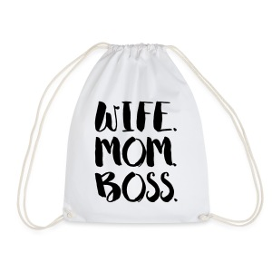 WIFE. MOM. BOSS - Turnbeutel