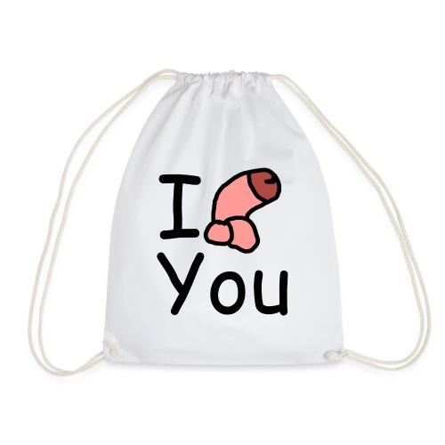 I dong you cup - Drawstring Bag