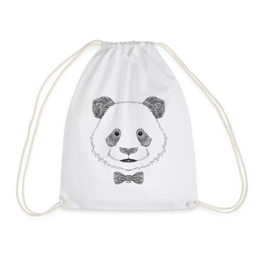 Panda tête noeud papillon - Sac de sport léger