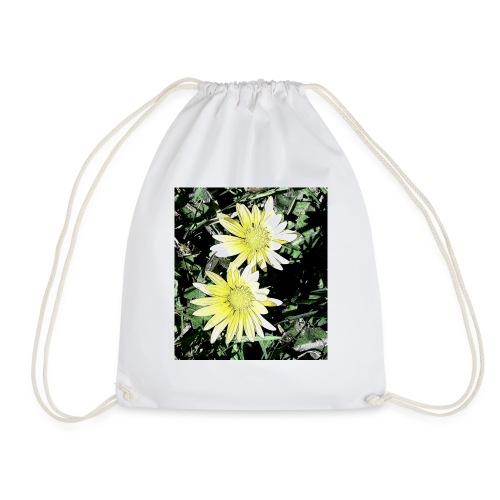 Flores silvestres - Mochila saco