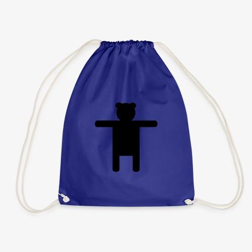 Epic Ippis Entertainment logo desing, black. - Drawstring Bag