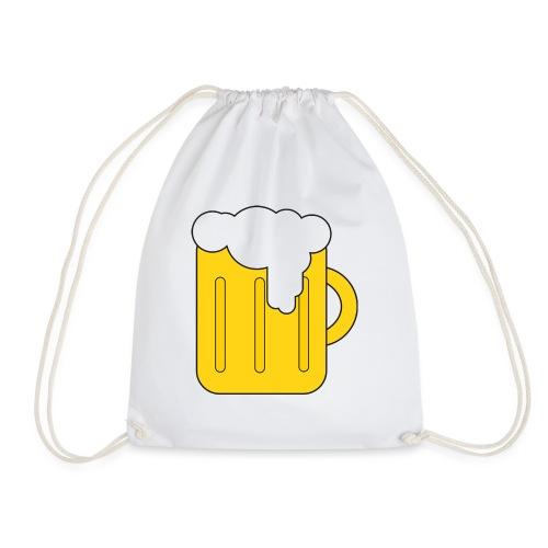 Entspanntes Bier Logo - Turnbeutel