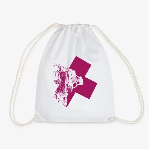 Climbing away - Drawstring Bag