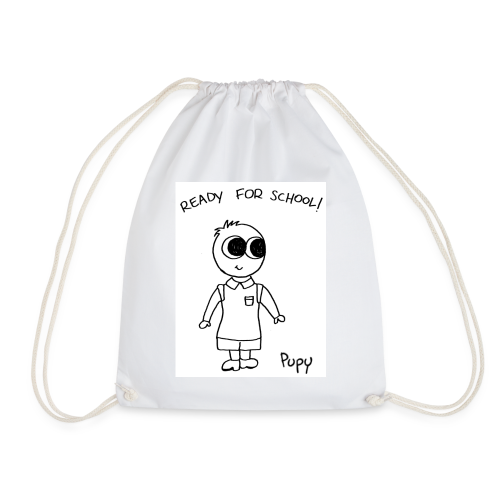 Pupy: ready for school! boy - Sacca sportiva