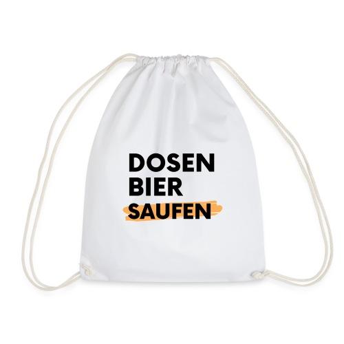 Dosenbier Saufen - Turnbeutel