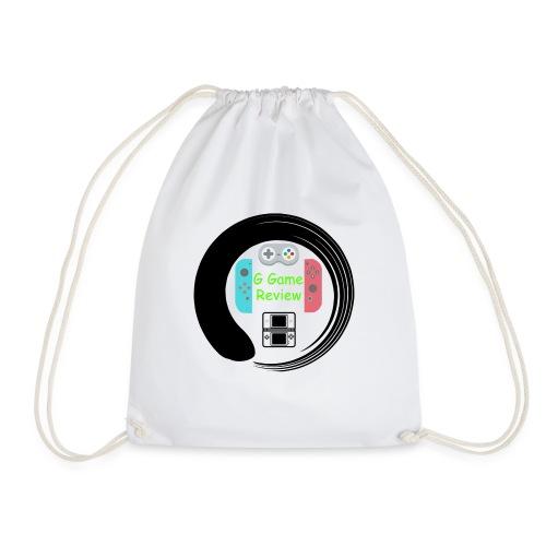 G Game Review Logo - Drawstring Bag