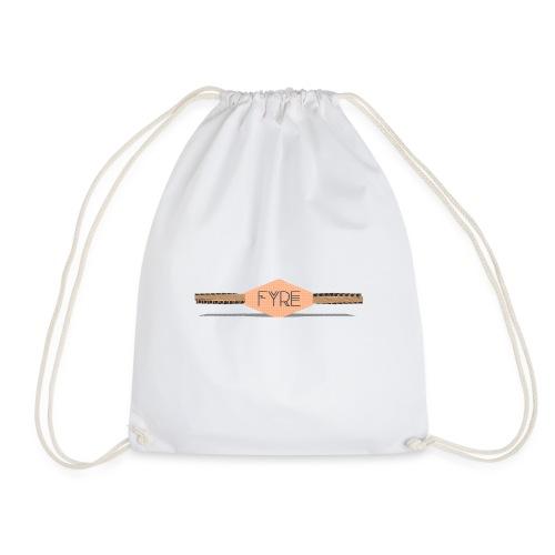 FYRE 3D Logo - Drawstring Bag
