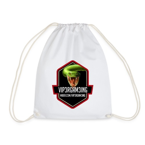 RED TSHIRT LOGO1 - Drawstring Bag