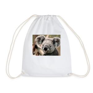 panda squad - Drawstring Bag