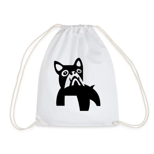 MadDog_kunst mit hund.eps - Turnbeutel