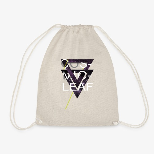 Cosmicleaf Triangles - Drawstring Bag