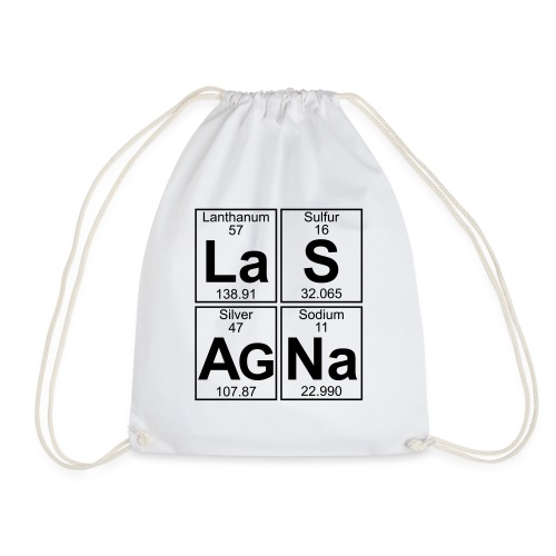 La-S-Ag-Na (lasagna) - Full - Drawstring Bag