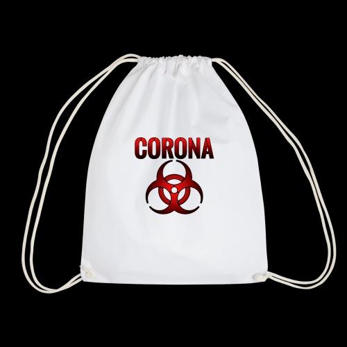 Corona Virus CORONA Pandemie - Turnbeutel
